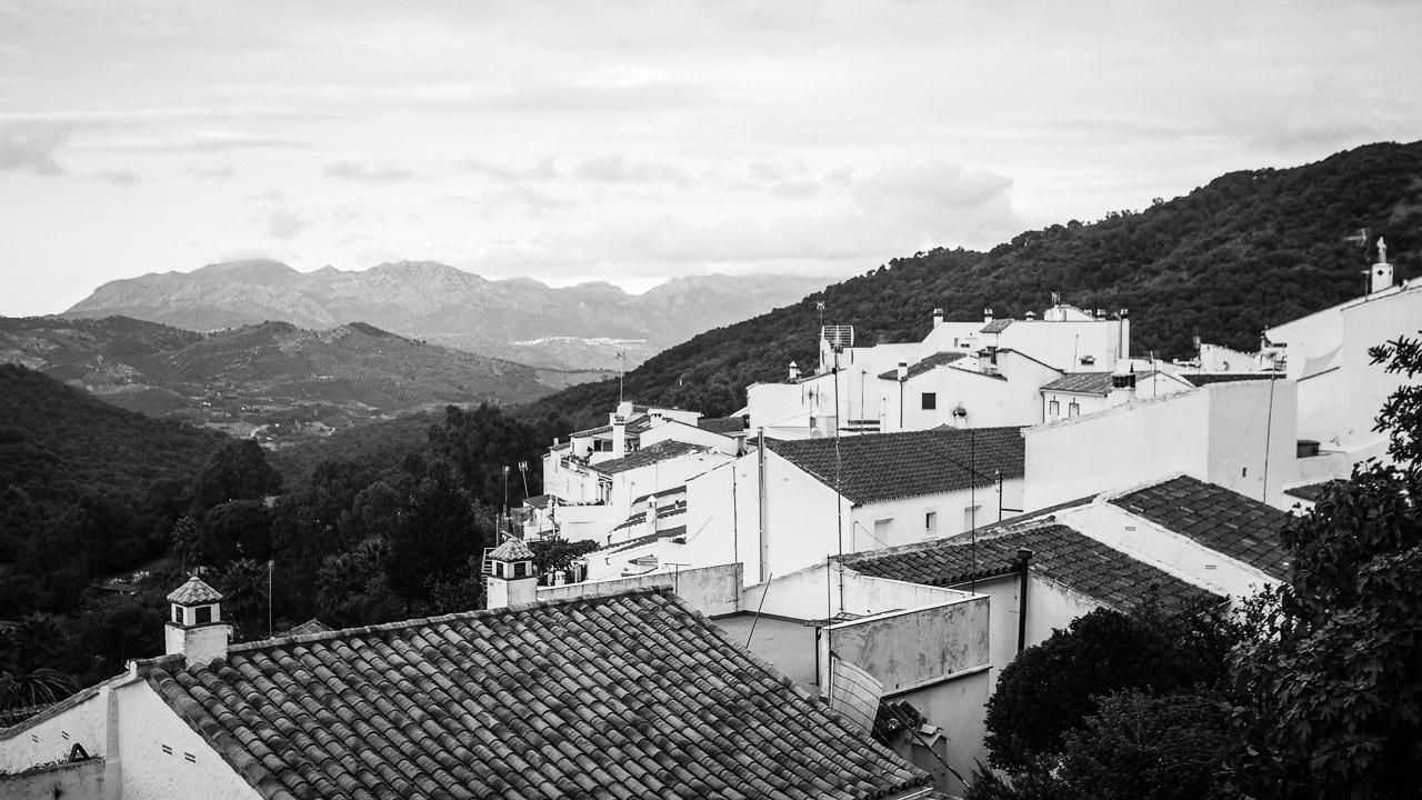 town of Gaucin Spain